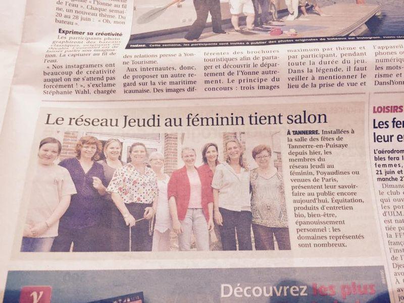 Yonne republicaine 20 juin 2015